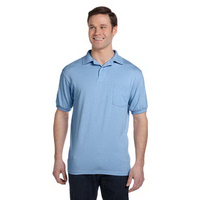 5.5 oz 50/50 Jersey Pocket Polo