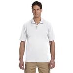 Men's 4.4 oz., 100% Organic Cotton Jersey Short-Sleeve Polo