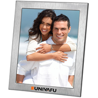 8x10 Brushed Metal Photo Frame