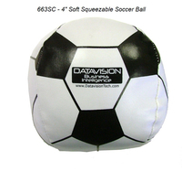 "4"" Soft Squeezable Soccer Ball #663 & Variety *"