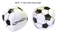 Semi Soft Soccer Kickball / Stress Ball 670 & Variety *