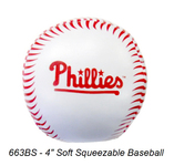 """4"""" Soft Squeezable Baseball #663BS & Variety"""