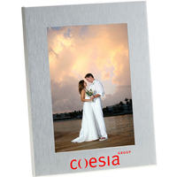 4x6 Brushed Silver Photo Frame