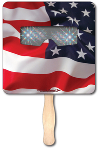 Fireworks Glasses Fan - Square - Stock Designs