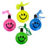 Smile Face Bubbles Wiith Lanyard & Wand - E691