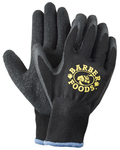 Black Palm Dipped Gloves