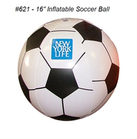 "Soccer Inflatable Ball 16"" (#621) & Variety *"