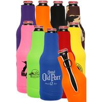Neoprene Zippered Bottle Coolie