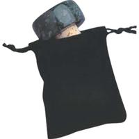 Velveteen Pull-String Stopper Sack
