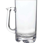 Beer Mug, Large, Acrylic 32 oz. rimfull