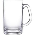 Beer Mug, Small, Acrylic 20 oz. rimfull