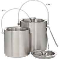 Jamboree Deluxe Ice Bucket (2 liter), Stainless Steel With T