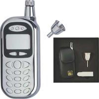 Cell Phone-Shape Pocket flask Set, 3 oz