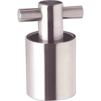 Secur-Seal Champagne / Wine Stopper, Stainless Steel