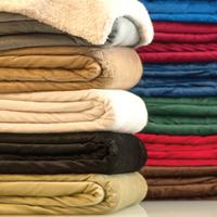 Sutterwood - Deluxe Micro Mink Sherpa Blanket