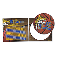Schedule Magnet w/ Circle Punch Out Car Sign