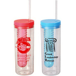 19 oz. Double Wall Infusion Tumbler