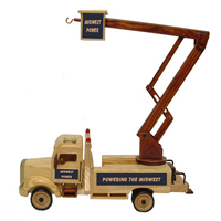 Wooden Collectible Lift Bucket Truck-5 oz. Deluxe Mixed Nuts