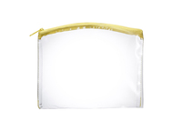Arched Top Clear Zippered Pouch