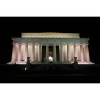 Holiday Card - Lincoln Monument Glory