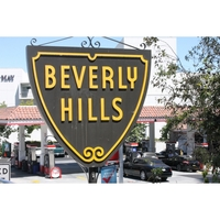 Holiday Card - Beverly Hills Sign