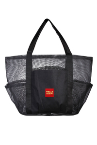 Heavy Vinyl Mesh Shoppers Tote