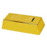 Gold Bar Coin Bank Paper Paperweight