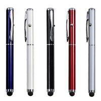 2-in-1 Laser Pointer Metal Stylus Pen