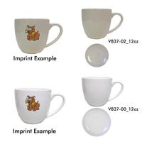 12oz Bistro Cappuccino Mug, spot color process