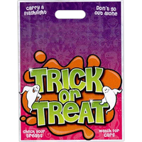 "11"" x 15"" Stock Full Color Halloween Bagd"