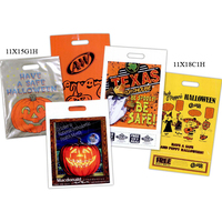 Custom Printed Metallic Coupon Style Halloween Bag
