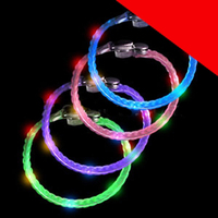 LED Braided Bracelets - Assorted Light Up