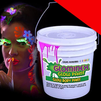 Glow Body Paint Gallon Light Up