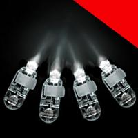 LED Finger Lights - 4ct Light Up