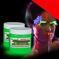 Glow Body Paint 4 oz Jar Light Up
