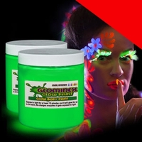Glow Body Paint 8oz Jar Light Up