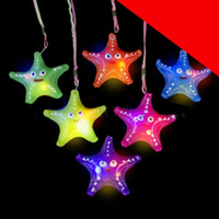 LED Jelly Necklaces - Assorted Light Up
