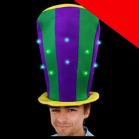 LED Stove Top Hat Light Up
