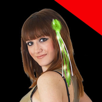 LED Ribbon Hair Extension Light Up