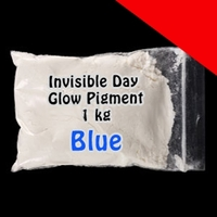 Glominex Invisible Day Glow Pigment 1 kg Light Up