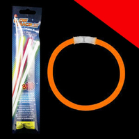 8 Inch Retail Packaged Glow Bracelets Light Up
