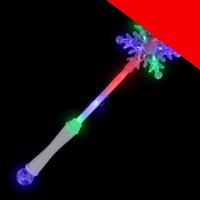 LED Snowflake Wand Light Up