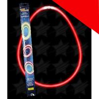 22 Inch Retail Packaged Glow Necklaces Light Up