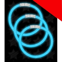 Blank 8 Inch Glow Bracelets Light Up
