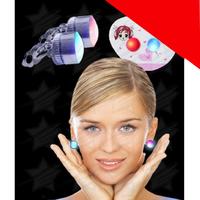 LED Stud Earrings Light Up