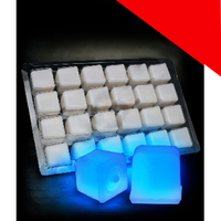 Glowing Ice Cubes Light Up