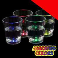 LED Liquid Activated Shot Glass Light Up