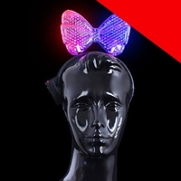 LED Bow Headband Light Up
