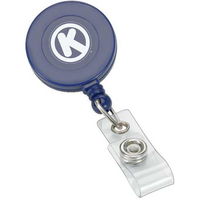 Retractable Badge Reel with Swivel Bulldog Clip
