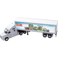 White Kenworth T2000 with Trailer